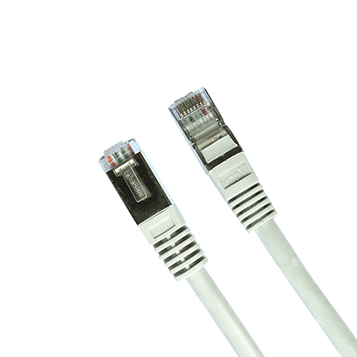 Cat5e 4pr 24AWG Stranded Foil Shielded Patch Cord FTP
