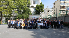 "27 colleges from 13 provinces, 2 cities and 2 districts participated in the ""information network cabling"" competition briefing session and technical training meeting of 2019 information technology"